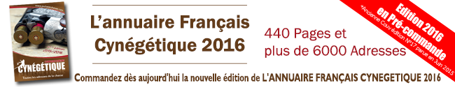 Annuaire français cynégétique 2016
