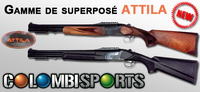 Les nouveaux superposés ATTILA chez Colombi Sports