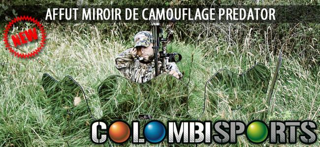 Un miroir de camouflage pour l'affût chez Colombi Sports !