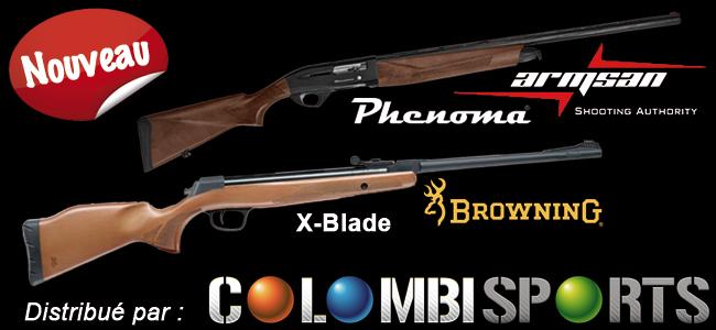 Colombi Sports étoffe une nouvelle fois sa gamme d'armes