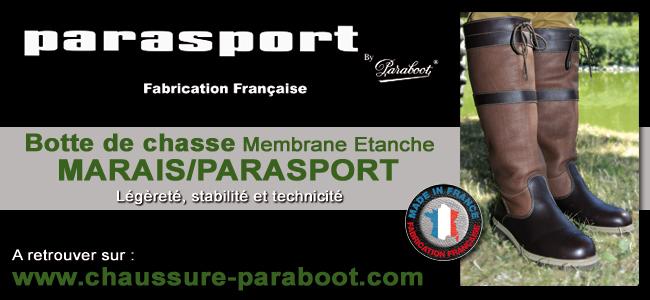 Botte de chasse parasport by Paraboot
