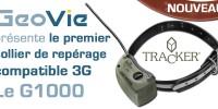 GeoVie présente le premier collier de repérage compatible 3G