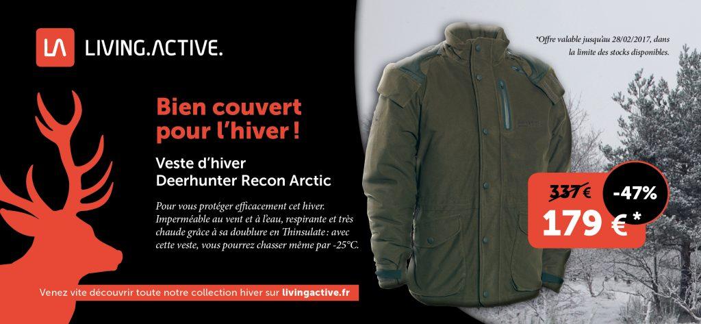Nouveautés: les offres hiver chez LivingActive.fr