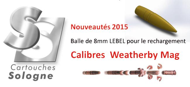 Du nouveau pour 2015 chez Cartouches Sologne