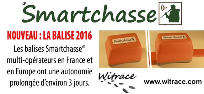 La nouvelle balise Smartchasse® disponible !