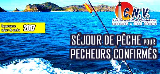 Evènement : 2017 <br/>Séjour de pêche à Madagascar spécial pécheurs confirmés <br/><em>-CNV Pêche Sportive</em>