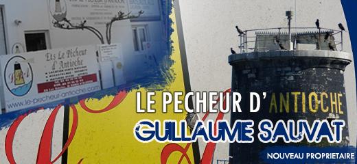 Nouveauté<br/>Guillaume SAUVAT reprend « Le pêcheur d'Antioche » <br/><em>Le pêcheur d'Antioche</em>