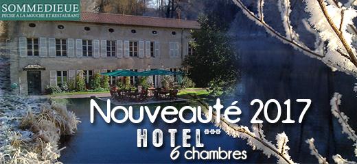 Ouverture de l'HOTEL*** – Saison 2017 <br/><em>-Domaine de Sommedieue</em>