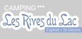 – CAMPING « LES RIVES DU LAC » CANTALES –